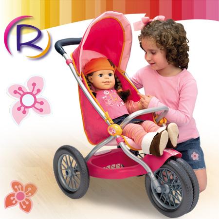 Коляска для куклы Роксаны Smoby (Смоби)