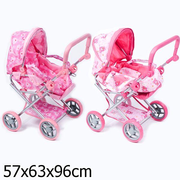 Зимняя коляска для кукол
