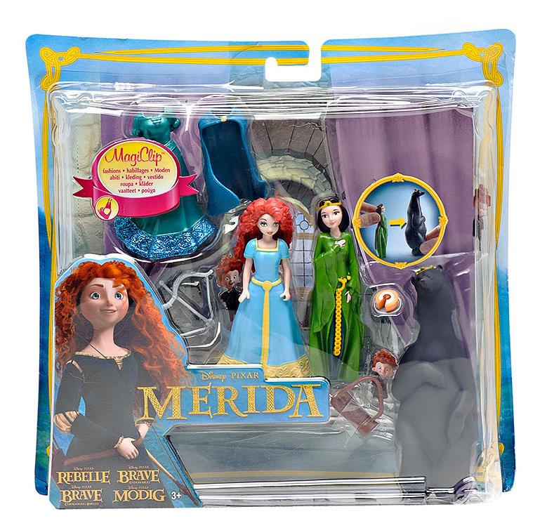 """Набор DeLuxe с мини-куклой """"Disney Принцесса – Мини-замок Мериды"""", Mattel (Мател)"""