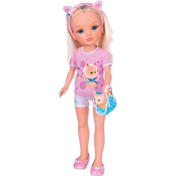 Кукла Нэнси и ее маленький питомец: с котенком Famosa (Фамоса)