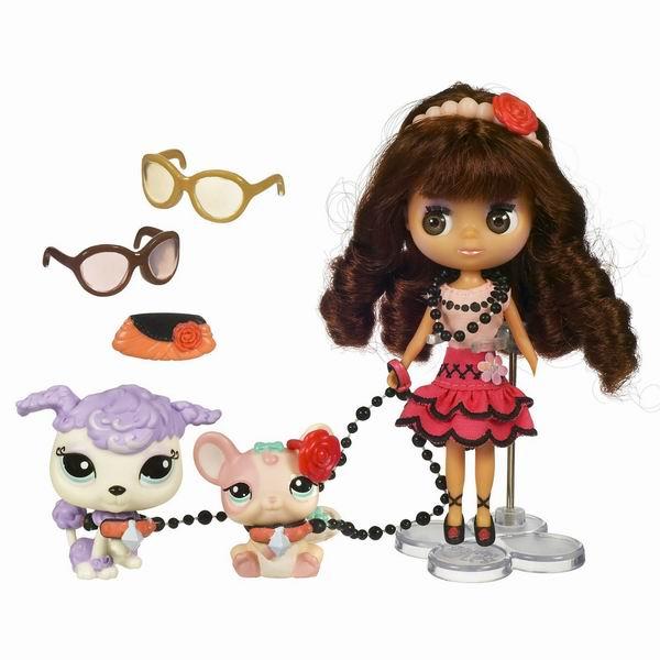 Поездка в Париж, игровой набор Hasbro Littlest Pet Shop (Маленький зоомагазин)