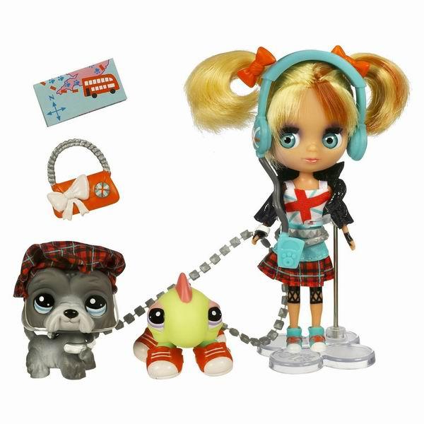 Поездка в Лондон, игровой набор Hasbro Littlest Pet Shop (Маленький зоомагазин)