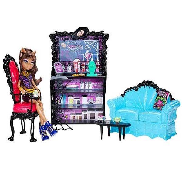 Дешёвая мебель для кукол монстер хай