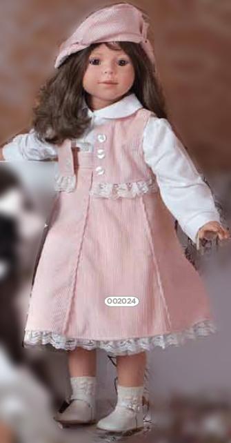 Кукла Carmen Gonzalez (Кармен Гонсалес) Алтея брюнетка, 80 см