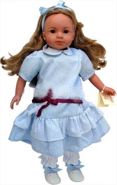 Кукла Carmen Gonzalez (Кармен Гонсалес) Паула, 52 см