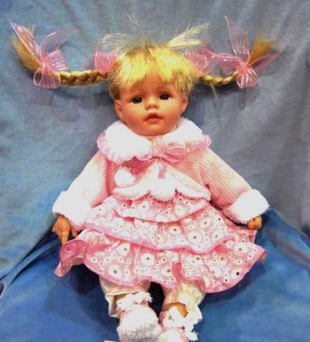Кукла Карапуз Бетти виниловая, озвученная, с чипом