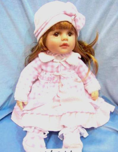 Кукла Карапуз Анжелика виниловая, озвученная, с чипом