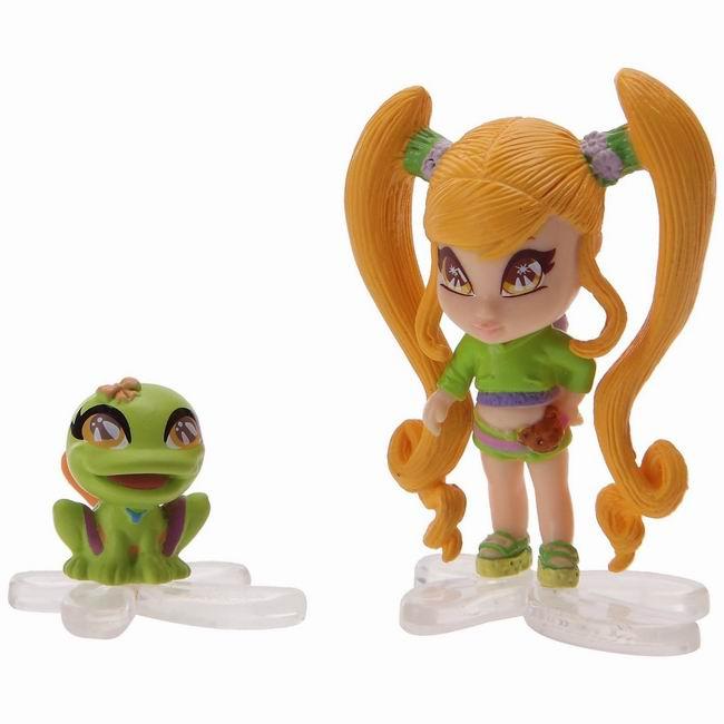 """Кукла PopPixie (ПопПикси) 4 см """"Малышка с питомцем"""": Чатта"""
