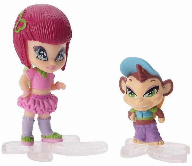 """Кукла PopPixie (ПопПикси) 4 см """"Малышка с питомцем"""": Локетт"""