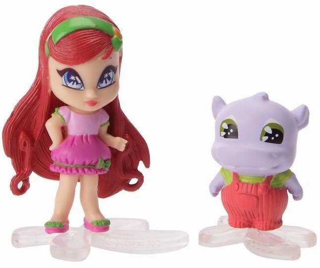 """Кукла PopPixie (ПопПикси) 4 см """"Малышка с питомцем"""": Амур"""