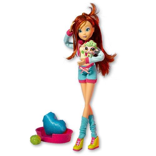 Кукла и Волшебный Питомец: Блум и Бель Winx (Винкс)