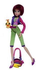 Кукла и Волшебный Питомец: Техна и Чико Winx (Винкс)