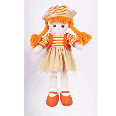 Кукла Апельсинка с двумя косичками Gulliver (Гулливер)