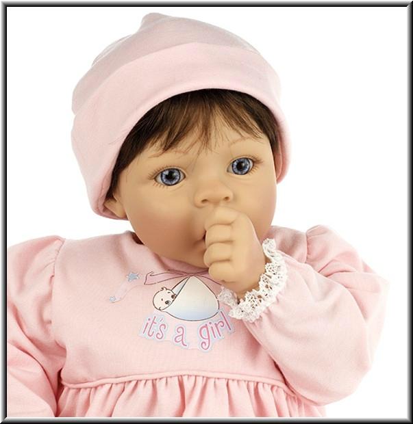 "Кукла-младенец ""Мамина радость, брюнетка"", Madame Alexander (Мадам Александер)"