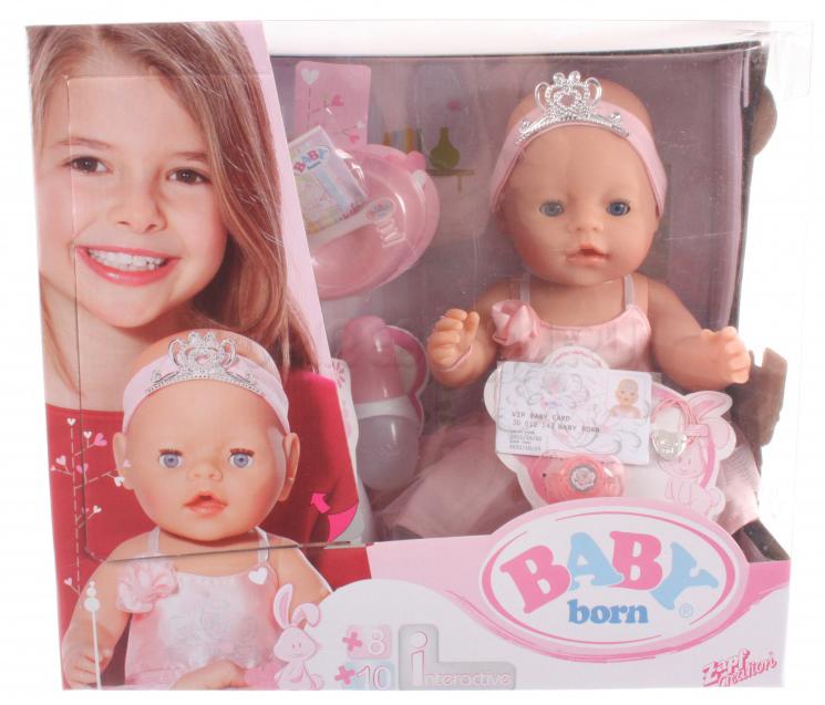 Кукла BABY born Балерина Zapf Creation (Запф Криэйшн)