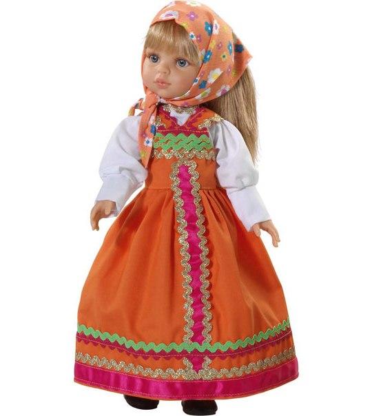 Кукла Марина в оранжевом. Paola Reina (Паола Рейна)
