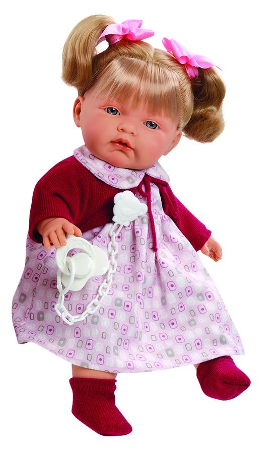 Кукла Паула Llorens (Лоренс) умеет говорить
