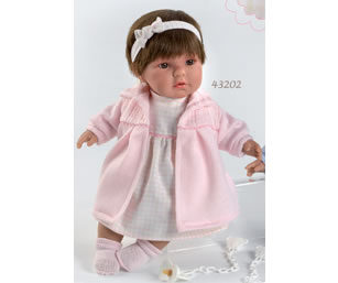 Кукла Llorens (Лоренс) Лола 42 см в розовом