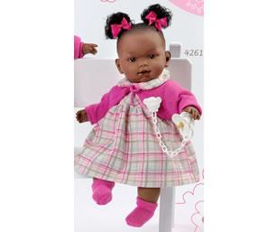 Кукла Llorens (Лоренс) Николь 42 см негритянка
