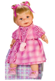 Кукла Моника Rauber (Робер), озвучена, 38 см.