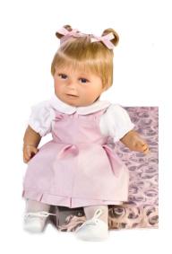 Кукла Антония Rauber (Робер), озвучена, 38 см.