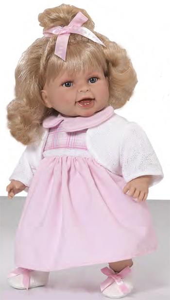 Кукла Мария Rauber (Робер) блондинка 39 см, озвучена