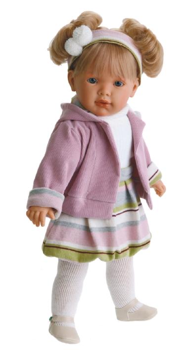 Кукла Лула в сиреневом Antonio Juans Munecas (Куклы Антонио Хуан)