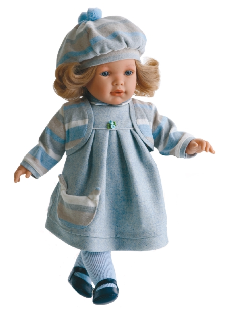 Кукла Лула в голубом, озвучена Antonio Juans Munecas (Куклы Антонио Хуан)