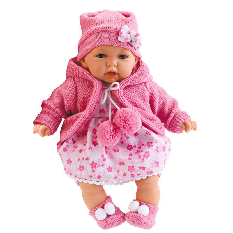 Кукла Азалия в ярко-розовом Antonio Juans Munecas (Куклы Антонио Хуан)