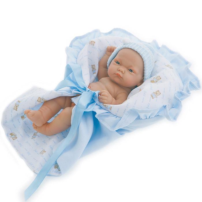 Кукла-младенец Лео в голубом Antonio Juans Munecas (Куклы Антонио Хуан)