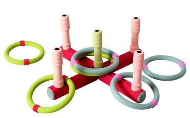 Игрушка кольцеброс малый SafSof (СафСоф) (СафСоф)