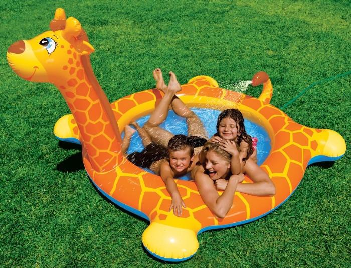 Детский надувной бассейн Жираф Intex (Интекс)