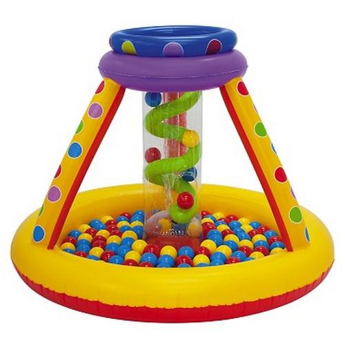 """Надувной игровой центр Moose Mountain (Муз Маунтин) с шарами """"Пузыри"""""""
