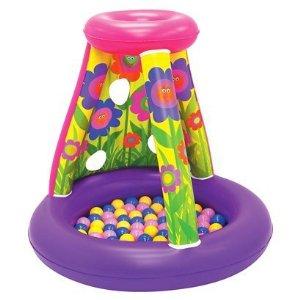 """Надувной игровой центр Moose Mountain (Муз Маунтин) с шарами """"Цветочная поляна"""""""