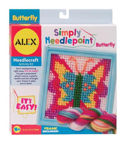 Набор для вышивания Бабочка Alex (Алекс)