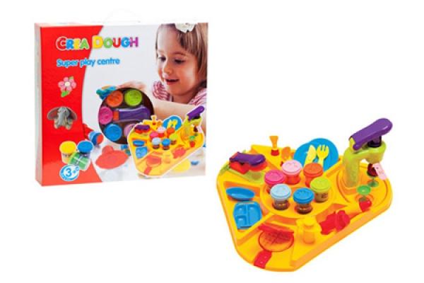 Супер игровой набор с пластилином Crea Dough Five Stars