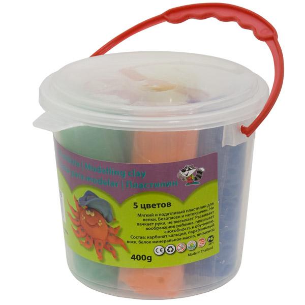 Пластилин 5 цв х 80 гр, IDIGO (Идиго)