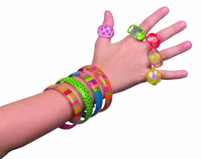 Набор для росписи: браслеты и кольца Alex (Алекс)