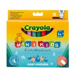 12 смывающихся цветных фломастеров Crayola (Крайола)