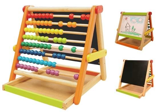 Развивающий центр: счеты и доска для рисования Im Toy (Ай эм той)