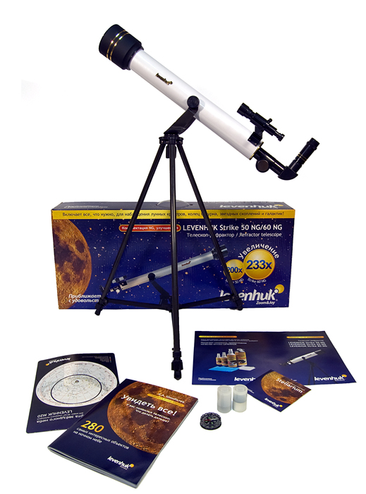 Телескоп Levenhuk (Левенгук) Strike 50 NG