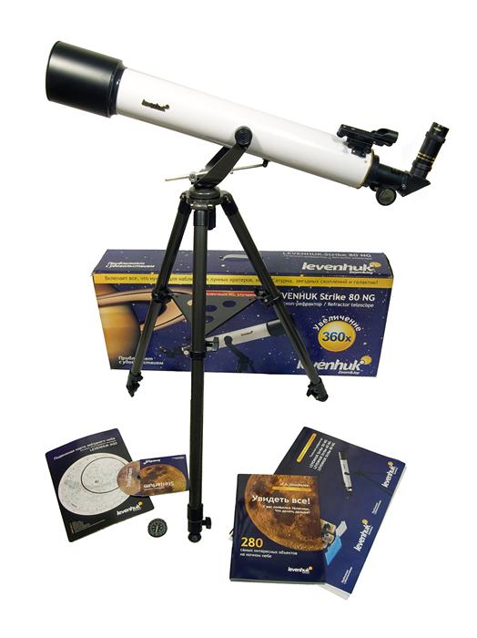 Телескоп Levenhuk (Левенгук) Strike 80 NG