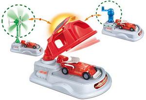 Научный опыт: 3 в одном: Экологические энергостанция с космомобилем Amazing Toys Ltd (Эмейзин Тойс)