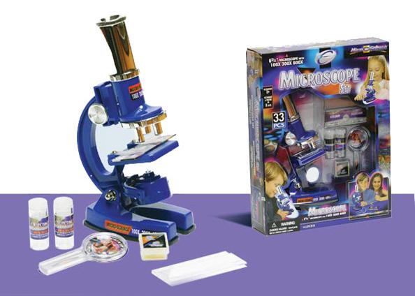 """Микроскоп """"33 предмета""""  Eastcolight (Истколайт)"""