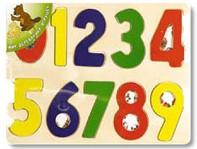 Цифры Мир деревянных игрушек