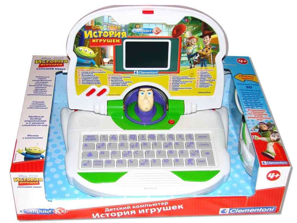 """Детский компьютер """"История игрушек 3″ Clementoni (Клементони)"""