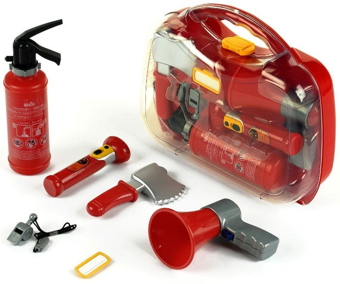 Набор пожарного в чемодане Klein (Кляйн)