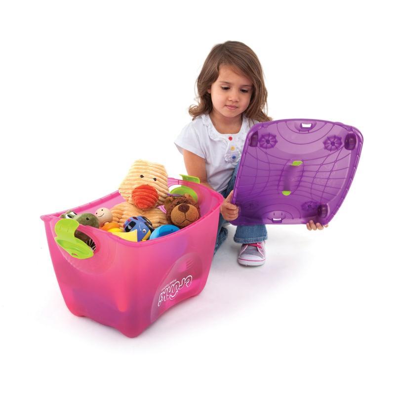 Ящик-каталка-качалка розовый Trunki (Транки)
