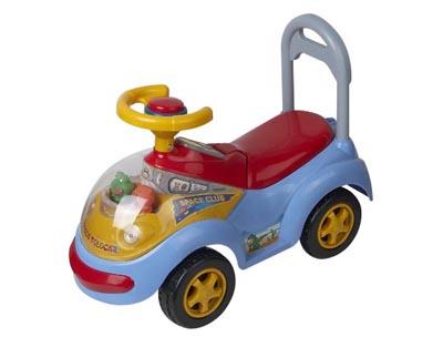 Каталка Space Smart Trike красная