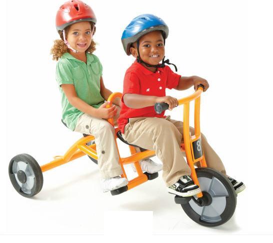 Детский трехколесный велосипед Такси Winther (Уинзер)